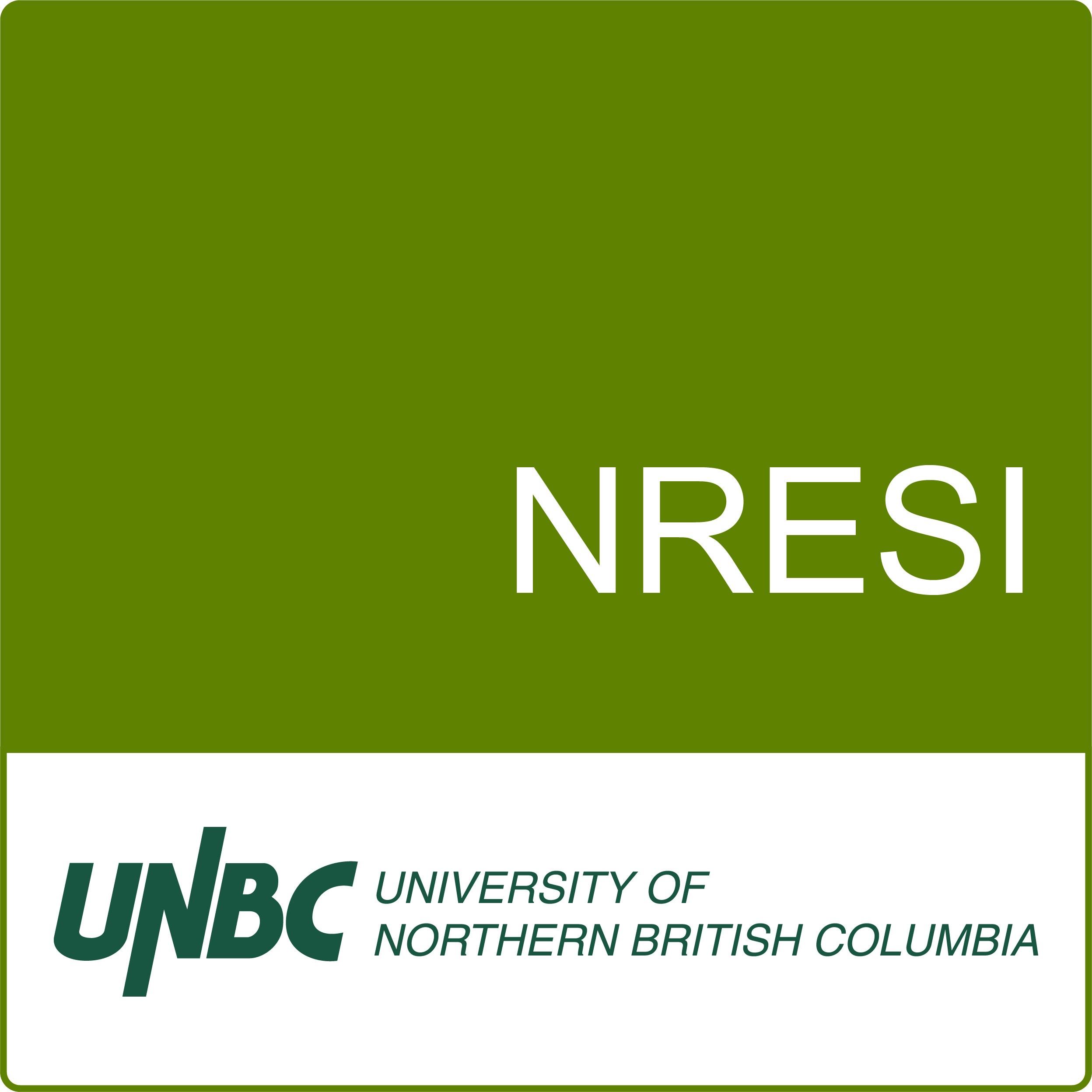 Natural Resources and Environmental Studies Institute (NRESI)