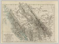 Map of British Columbia reduced from the original map by Mr. Alfred Waddington