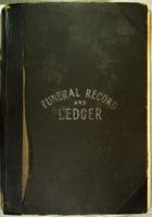 Corless Funeral Record and Ledger