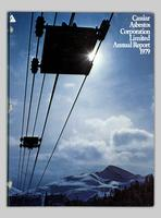 Cassiar Asbestos Corporation Limited annual report 1979