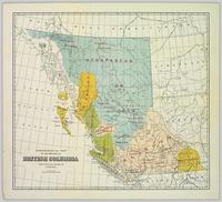 Ethnological Map of the Province of British Columbia